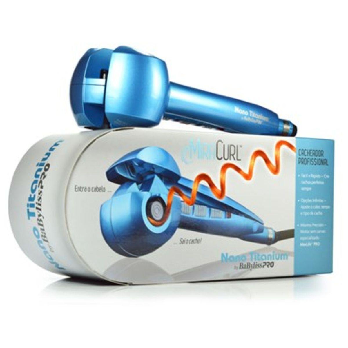 68a50414e Miracurl Babyliss Pro Nano Titanium Cacheador Profissional | Produto p/  Cabelos Feminino Babyliss Pro Nunca Usado 2212496 | enjoei