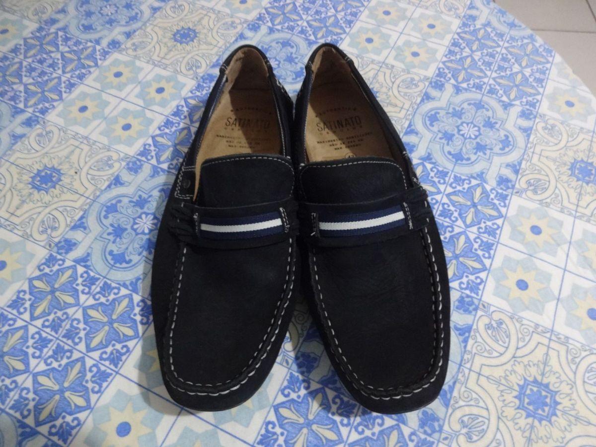 359adccd14 mocassim masculino em couro satinato genuine - sapatos satinato