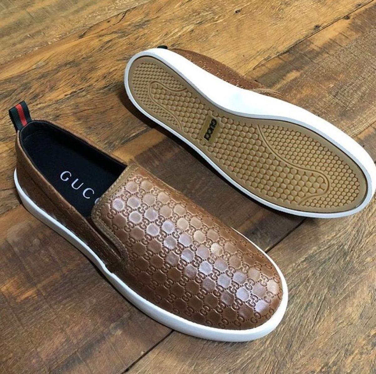 b00b1e3ff mocassim masculino slip on iate gucci castor símbolos - sapatos gucci