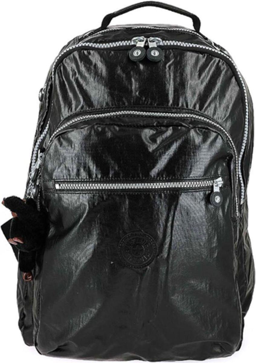 40c23173e mochila escolar kipling class seoul preta metalizada pronta entrega - mochila  kipling