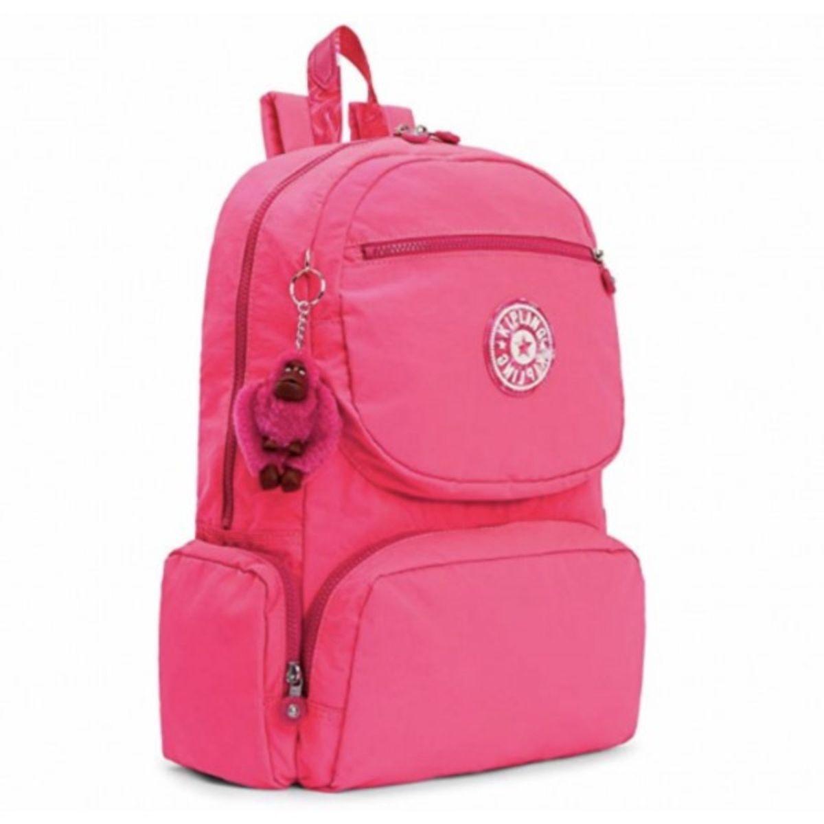 2459a06be Mochila Escolar Kipling Dawson Surfer Pink Lançamento   Mochila Feminina  Kipling Nunca Usado 30757343   enjoei