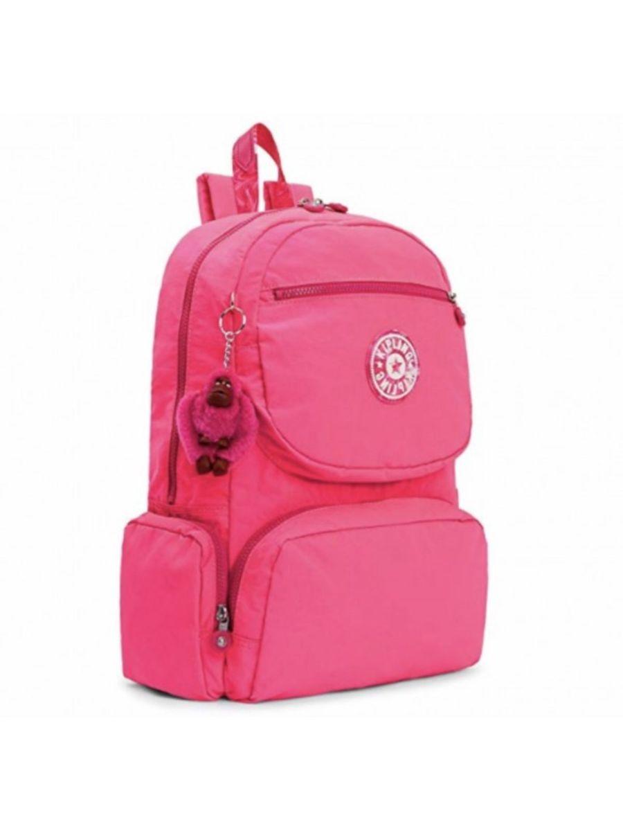 f8df6d6ca mochila escolar kipling dawson surfer pink lançamento - mochila kipling