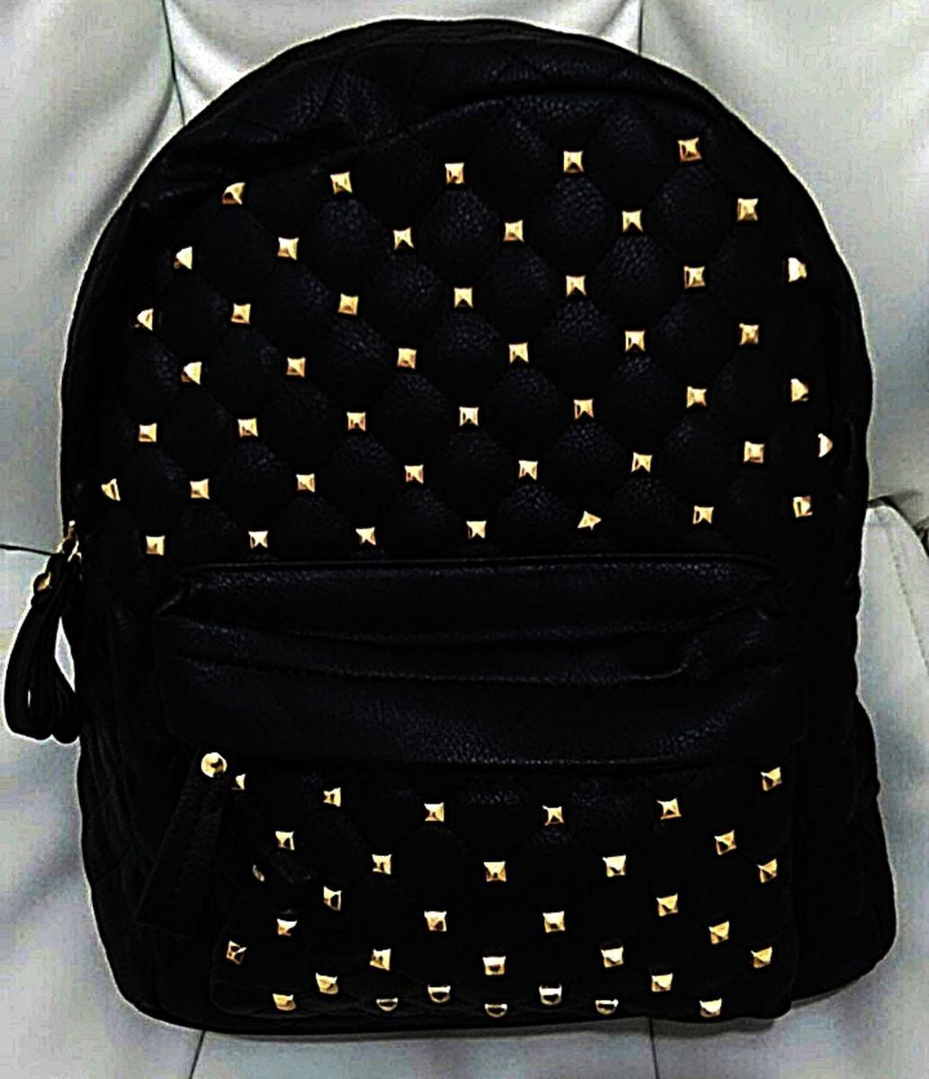 dddeb8569 mochila feminina couro sintético faculdade escola notebook - mochila sem  marca
