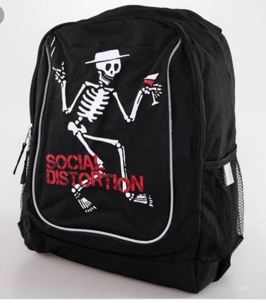 mochila social distortion - bolsas social distortion
