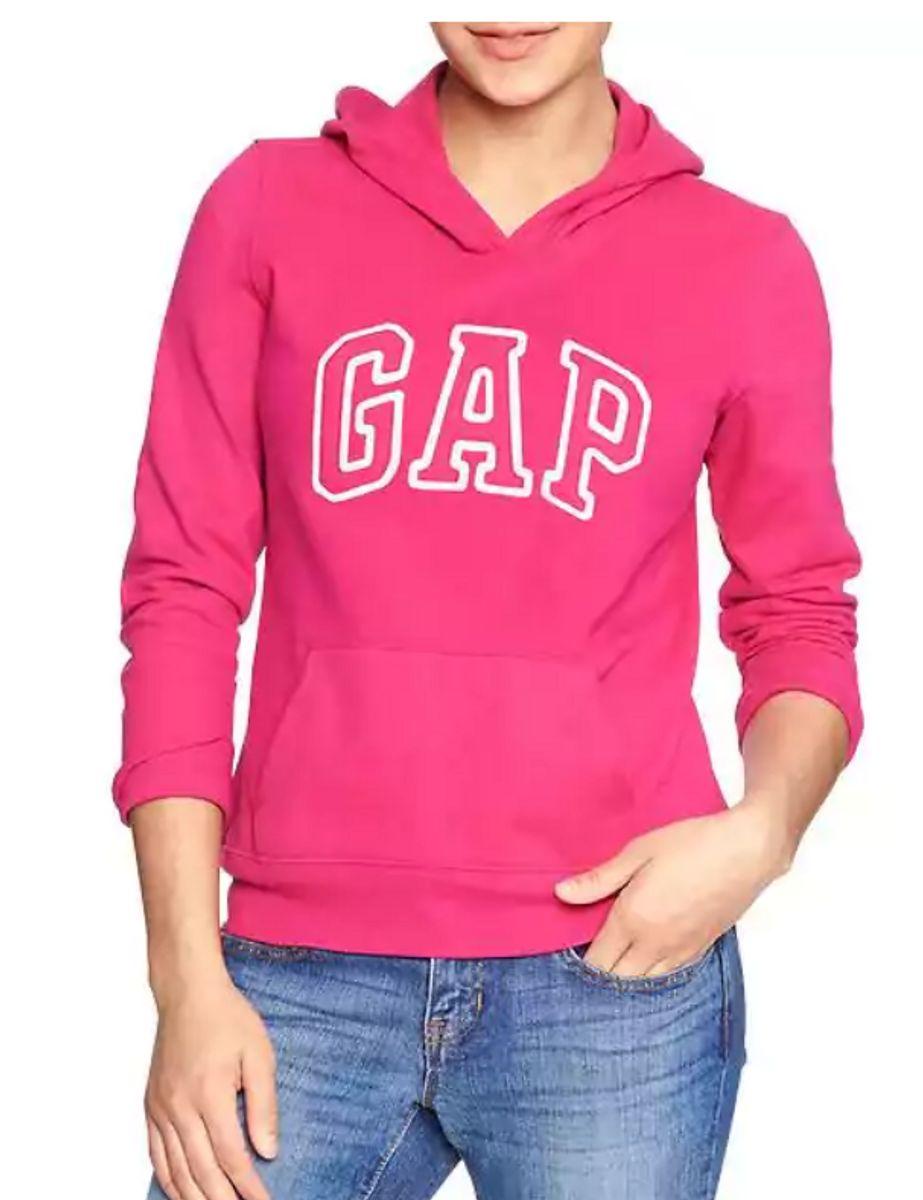 1c6c45b57c moletom gap feminino original fechado rosa - outros gap
