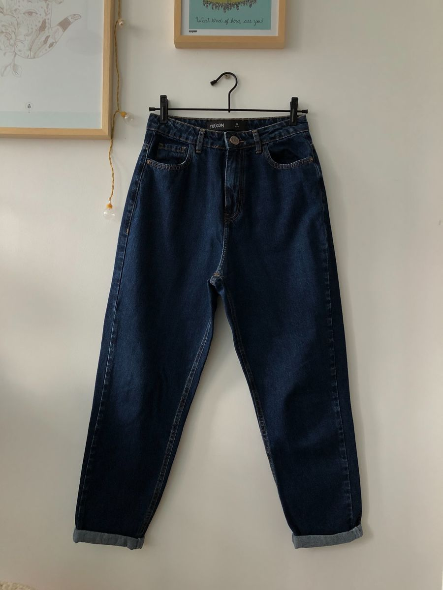 mom jeans youcom - calças youcom