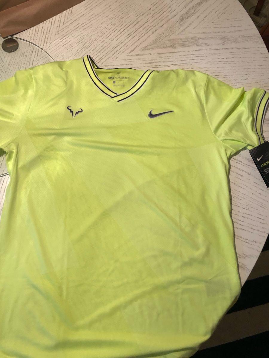 Último Mentalidad Apéndice  Nike Aeroreact Rafa Nadal | Camiseta Masculina Nike Nunca Usado 37700506 |  enjoei