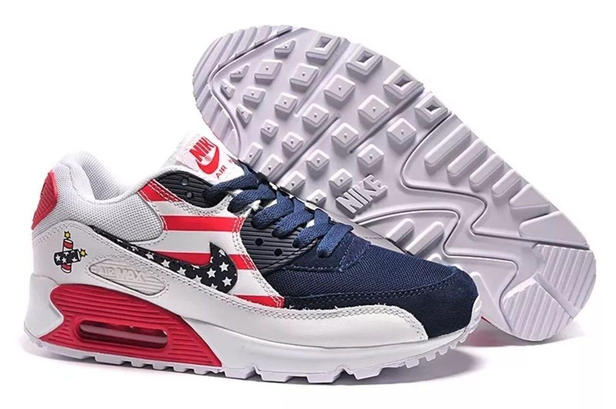 8d31da9faf6 Nike Air Max 90 Usa Edição Limitada