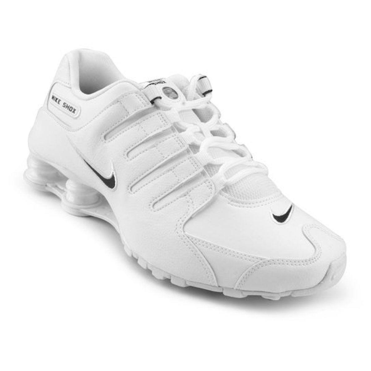 factory authentic 12871 09f9f Nike Shox Nz Branco White Original Novo Número 40   Tênis Masculino Nike  Nunca Usado 34685998   enjoei