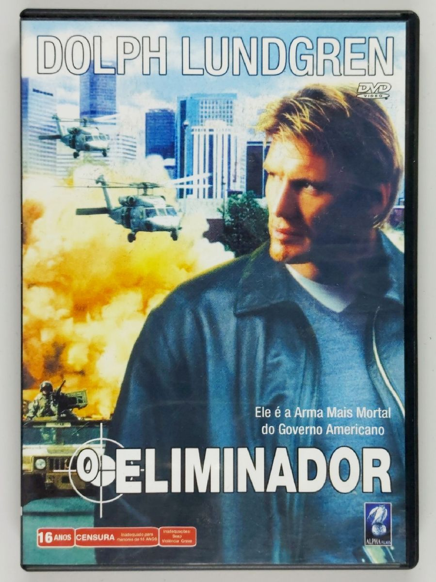 O Eliminador . Dolph Lundgren . Dvd | Filme e Série Dvd Usado 45507711 |  enjoei