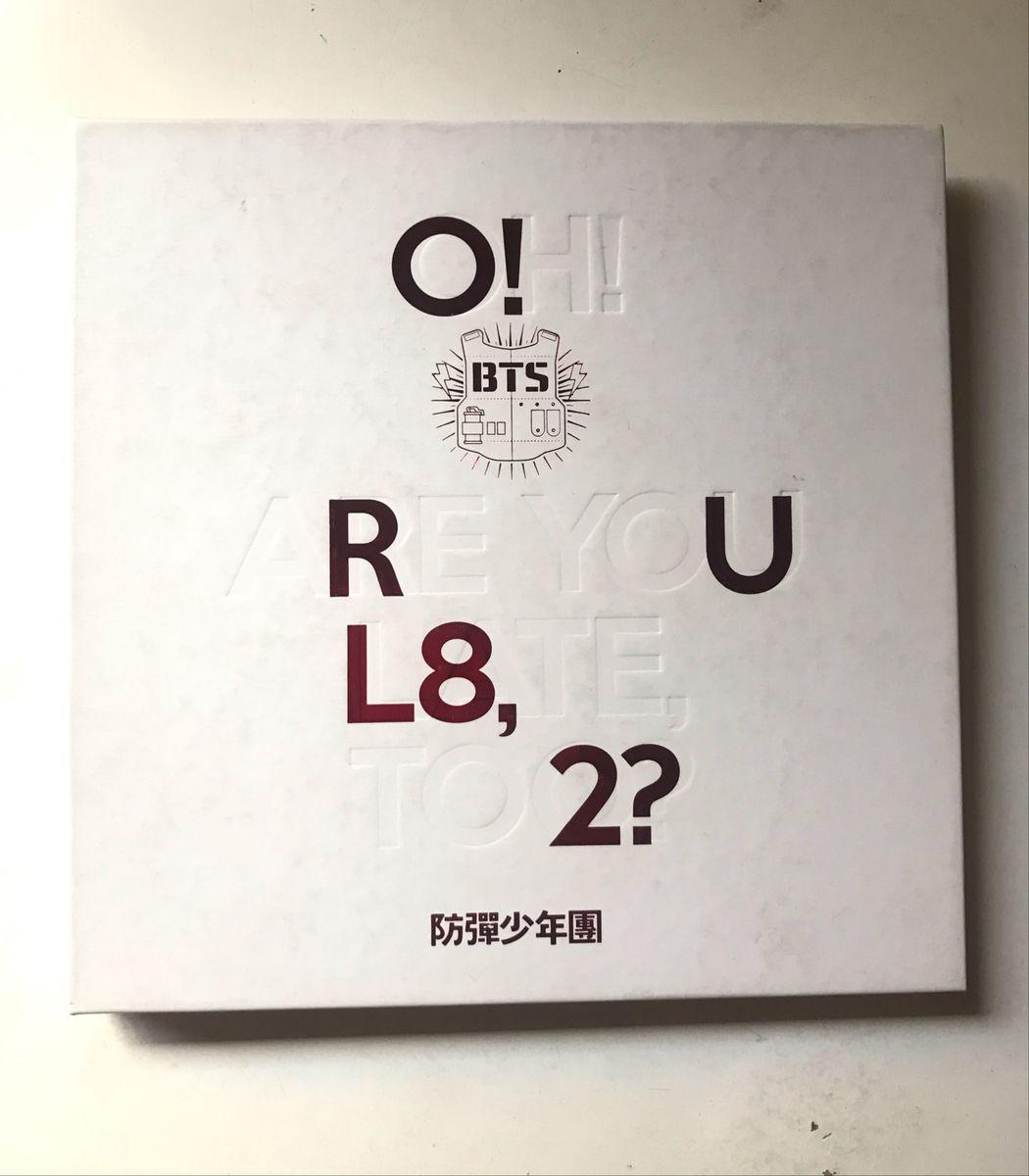 O Rul8 2 Oh Are You Late Too Album Bts Item De Musica Big Hit Usado 33852743 Enjoei
