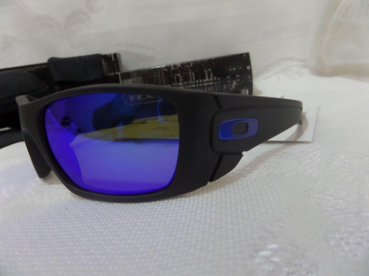 9910bab4ed40a Oakley Fuel Cell Azul com Lentes Polarizada - Exclusivo   Óculos Masculino  Oakley Nunca Usado 13402546   enjoei