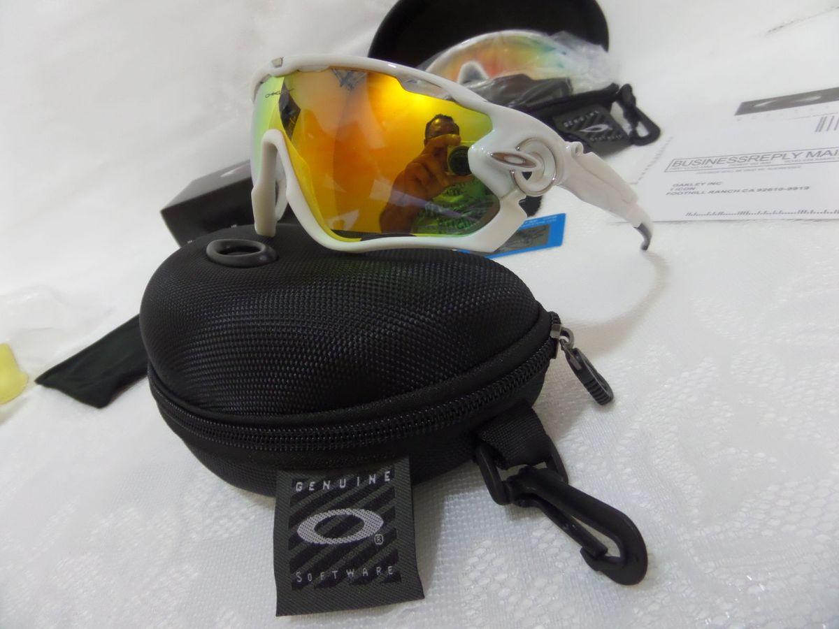 e5ea03362ad18 Oakley Jawbreaker Branco prizm Road C  3 Lentes Reserva - Original   Óculos  Masculino Oakley Nunca Usado 14925965   enjoei