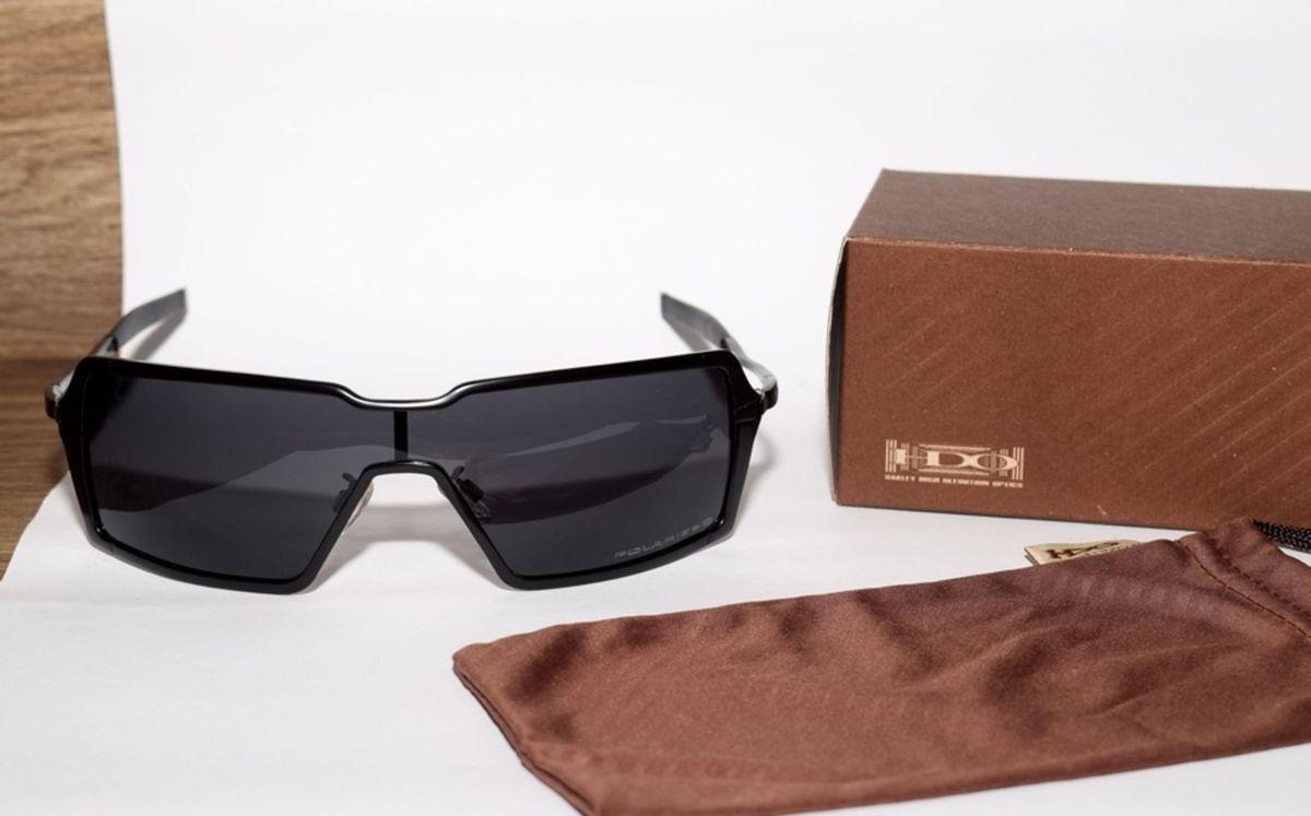 a52557f8964cc Oakley Probation Preto Lentes Pretas Polarizadas   Óculos Masculino ...