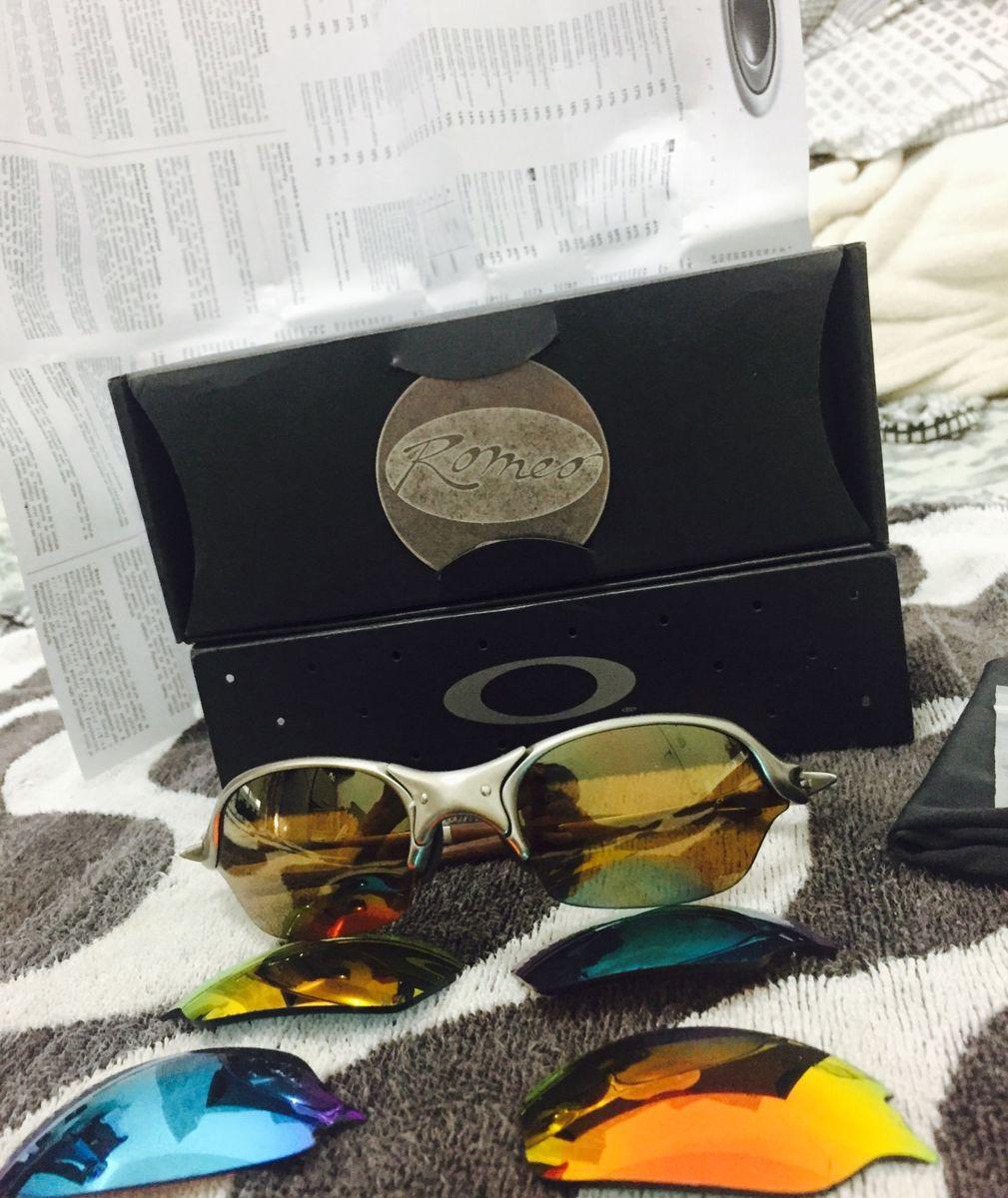 Oakley Romeo 2 , Linha X Metal Não Juliet Nem 24k   Óculos Masculino ... ac7132f336