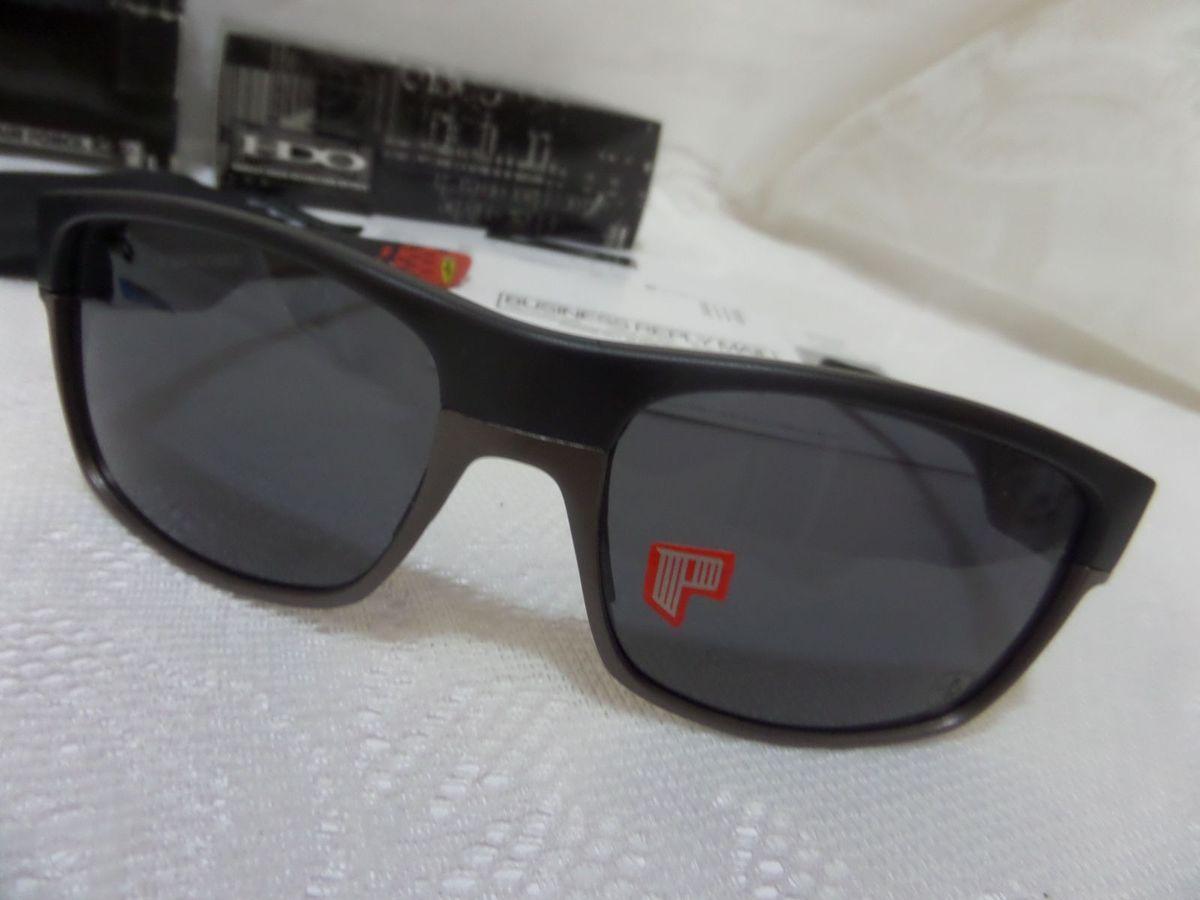 d67fa8b50 oakley twoface scuderia ferrari c/ lentes negras - exclusivo e original - óculos  oakley