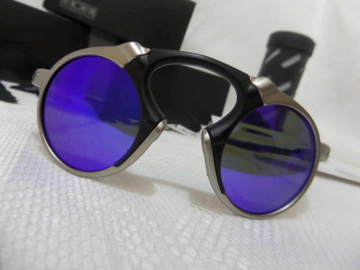 65989615827ac oakley x-metal madman azul polarizado - importado e original - óculos oakley
