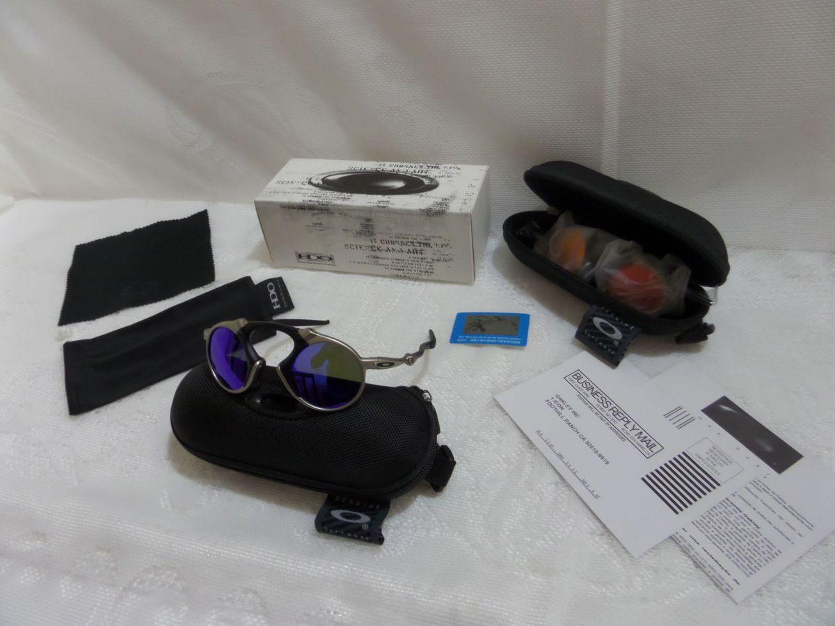 ffb9ae21af1df Oakley X-metal Madman Azul Polarizado - Original e Novo
