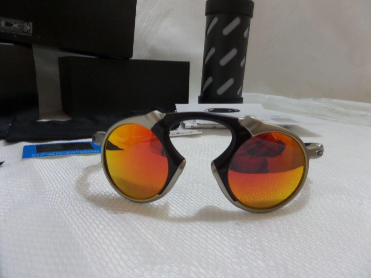 Oakley X-metal Madman Vermelho Rubi C  Lentes Polarizadas - Exclusivo e  Novo   Óculos Masculino Oakley Nunca Usado 14389565   enjoei adf713e742