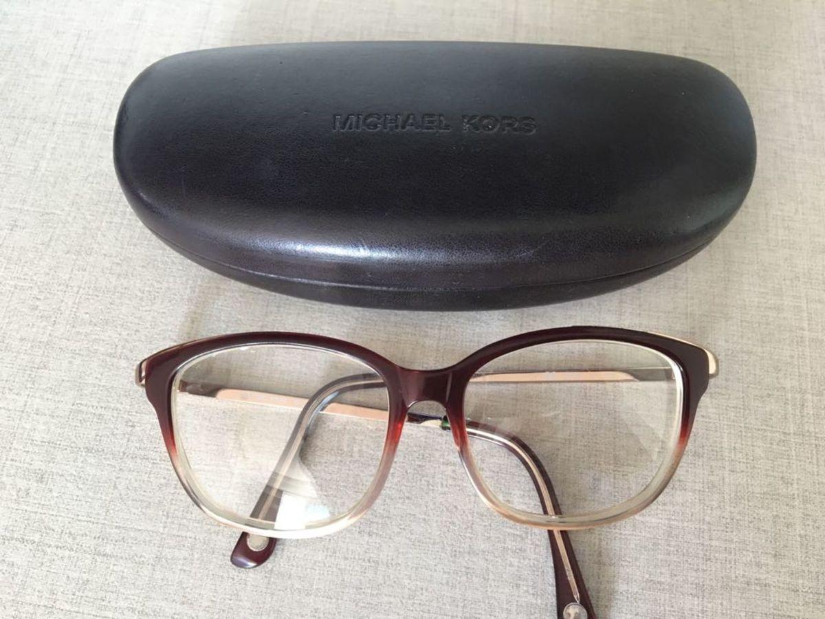 Óculos armação de Grau Michael Kors Original   Óculos Feminino ... 634e69f0c3
