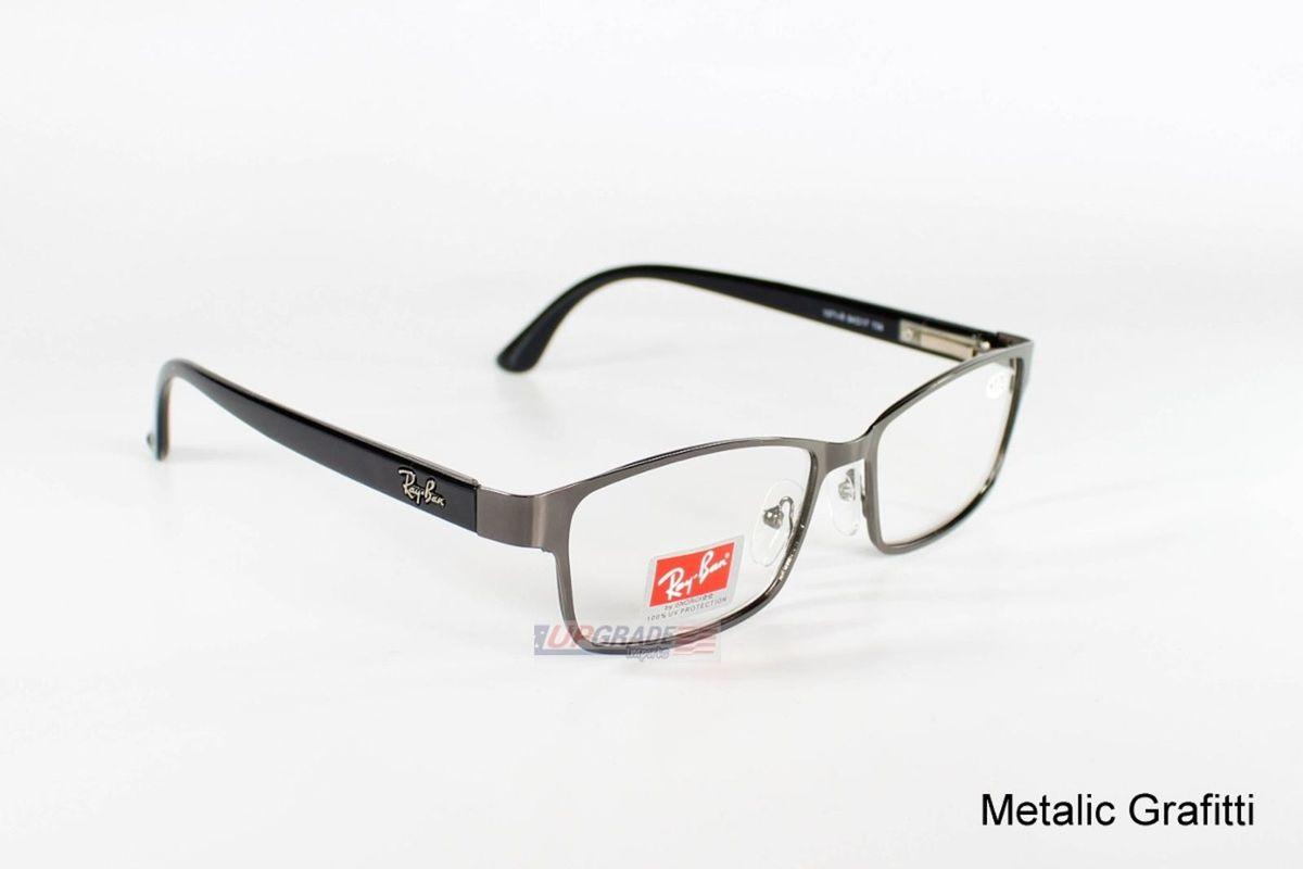 oculos armação de grau rayban metal acetato unisex feminina e masculino - óculos  ray ban 3dfc7039c4