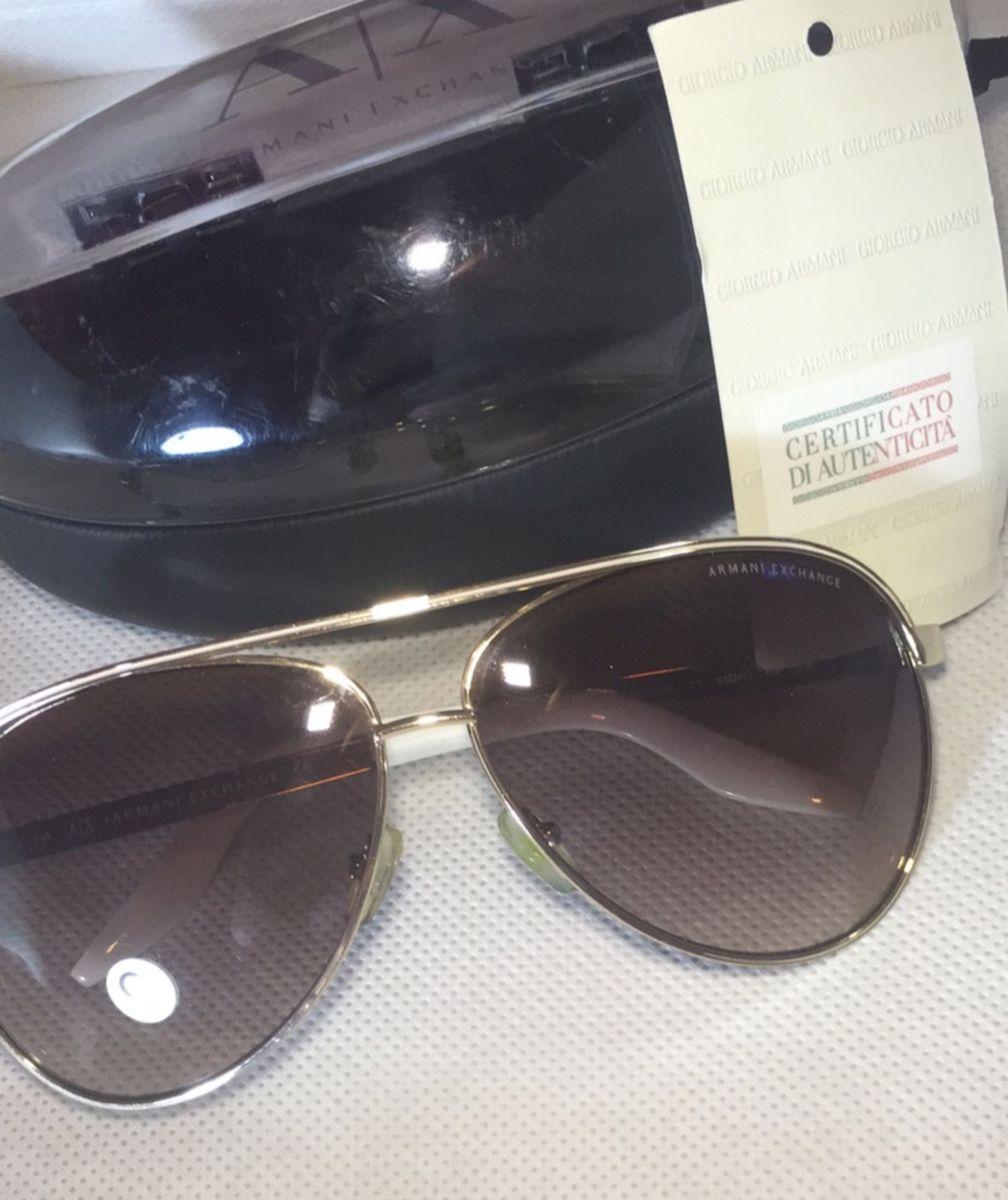 Óculos Armani Modelo Ax 156 s   Óculos Feminino Armani Exchange ... 15d6dc0413