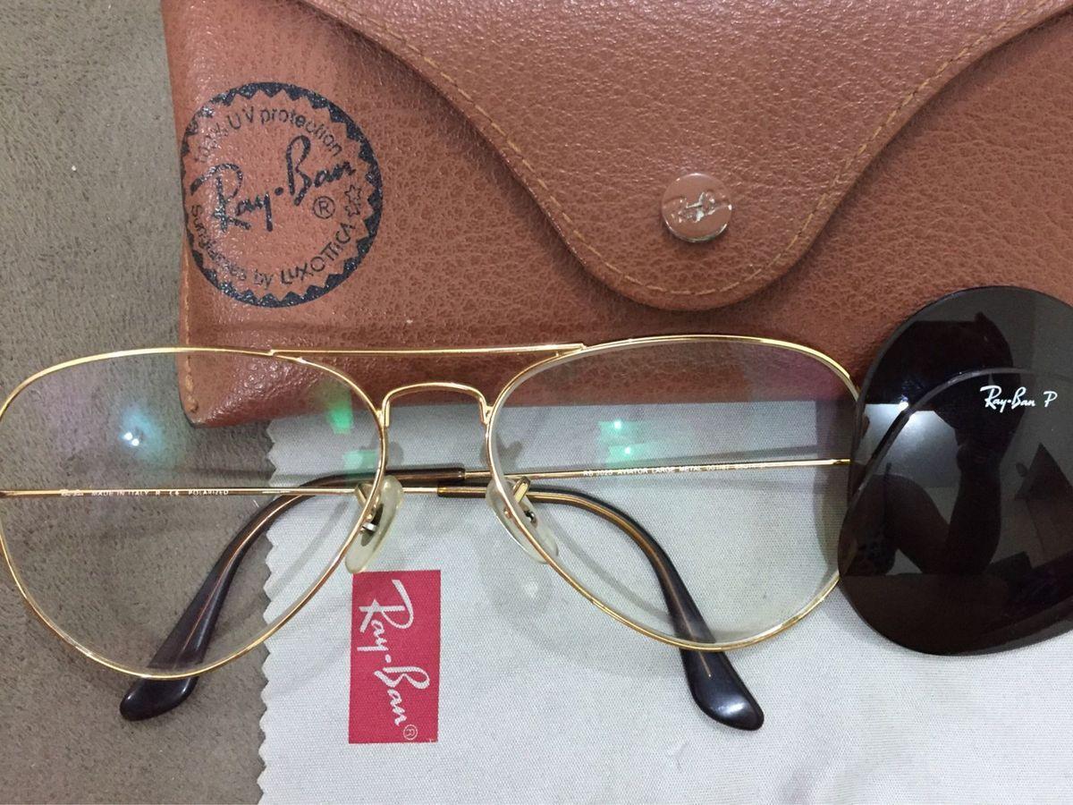 Oculos Aviador Adaptado com Lente de Grau   Óculos Feminino Ray Ban ... 0b4257fe75