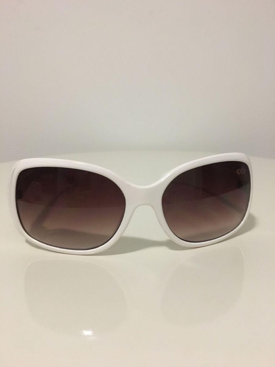 588605a3c Oculos Branco Chilli Beans | Óculos Feminino Chilli Beans Usado ...