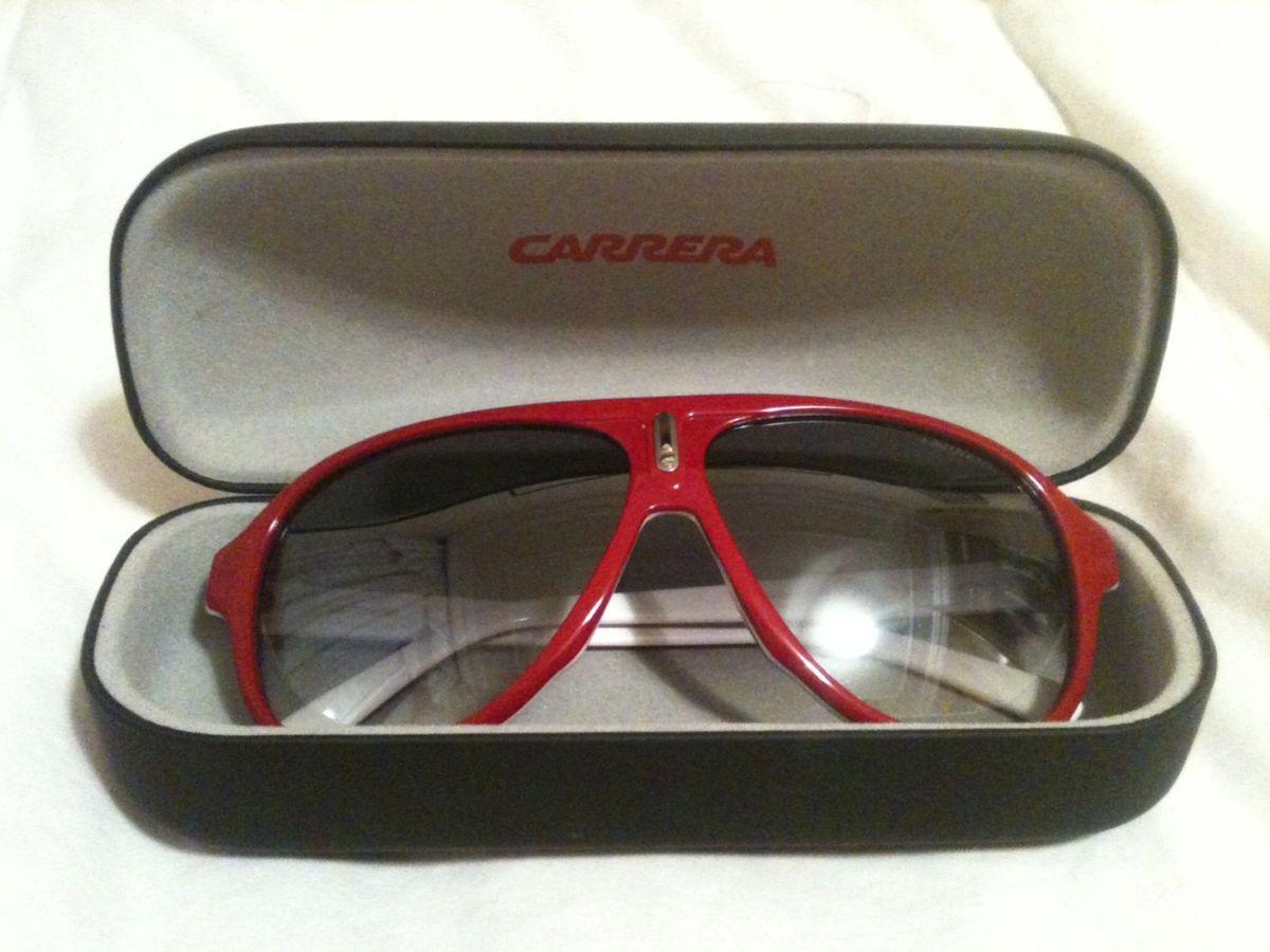 46fad2c6e2cee Óculos Carrera Vermelho Espelhado Original   Óculos Masculino ...