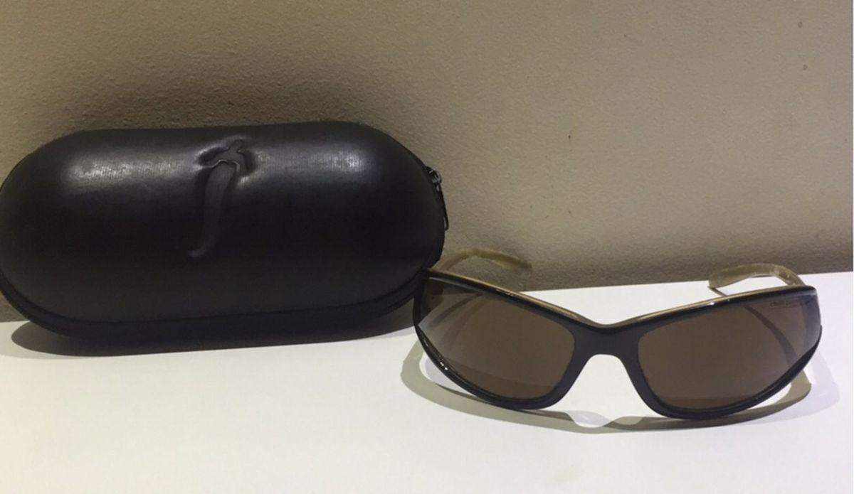 61ad14405c16c óculos chilli beans perna invertida irado! na cor marrom - óculos chilli- beans