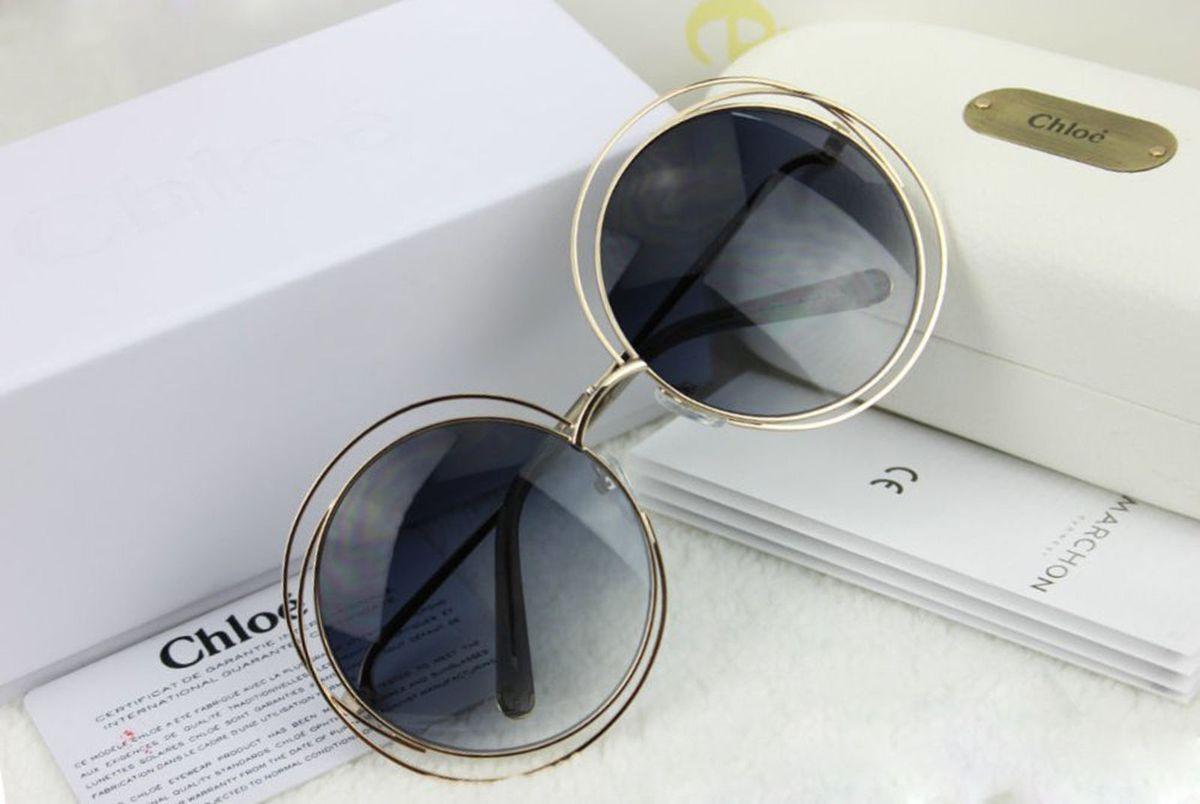 Óculos Chloé Carlina 114 Preto Degrade   Óculos Feminino Chloe Nunca ... 3bdd3b027e