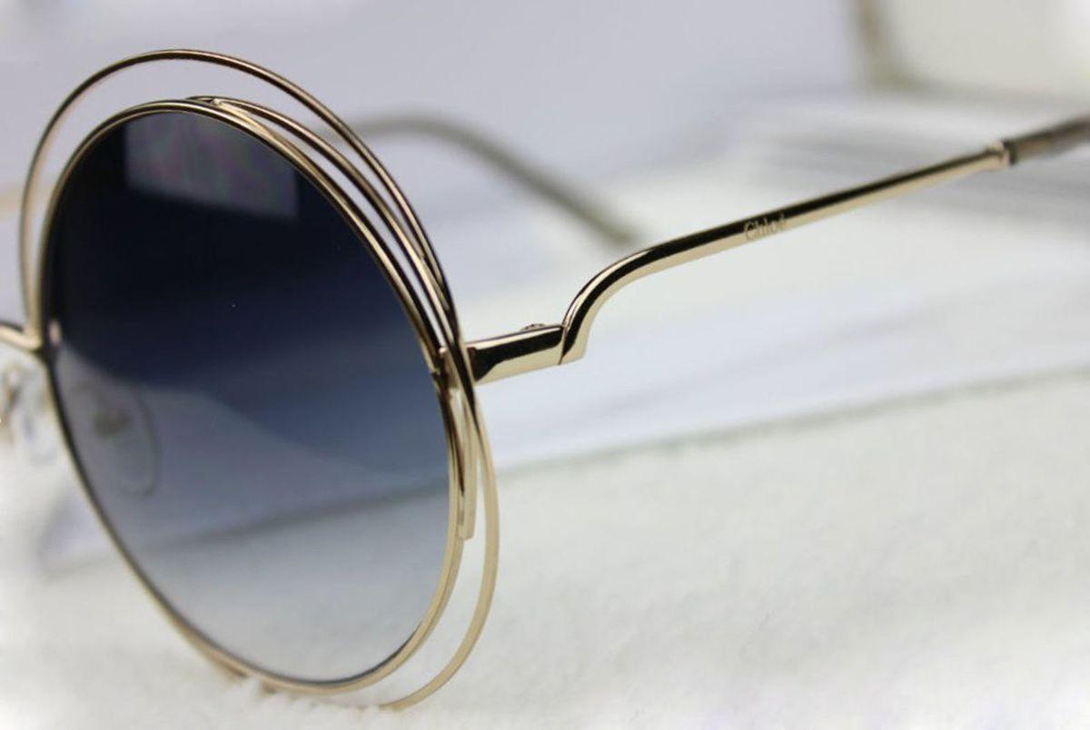 Óculos Chloé Carlina 114 Preto Degrade   Óculos Feminino Chloe Nunca Usado  19735361   enjoei d9570a8e77