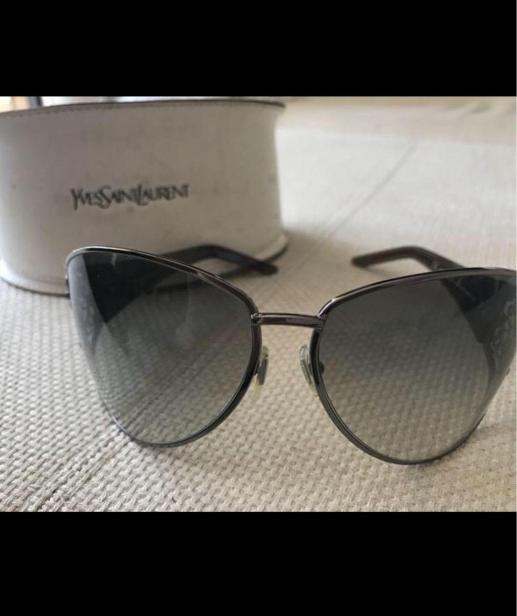 Óculos D Sol Yves Saint Laurent   Óculos Feminino Yves Saint Laurent ... 5a77e1a0fb
