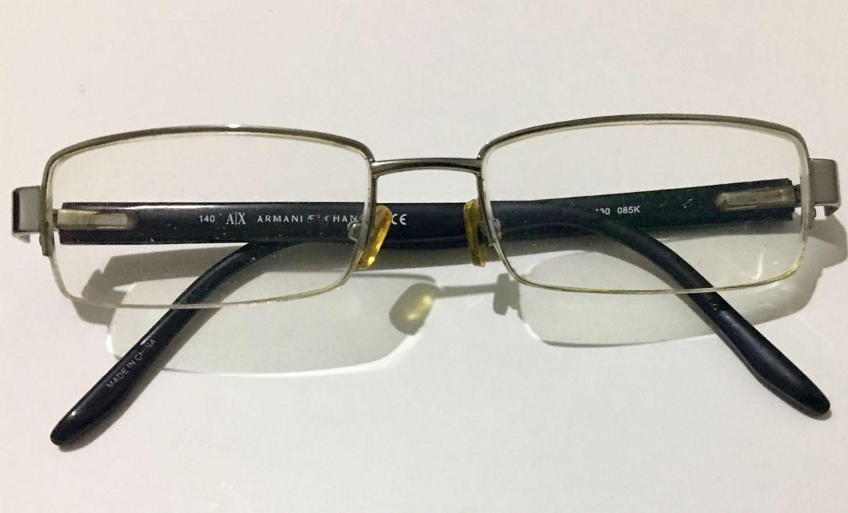 d12c573cd8275 Óculos de Grau Armani Exchange   Óculos Masculino Armani Exchange ...