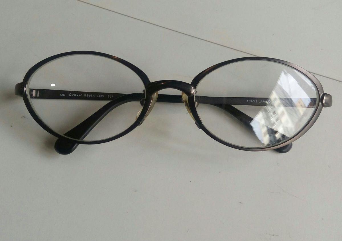 Óculos de Grau Calvin Klein   Óculos Masculino Calvin Klein Nunca ... 4462943592