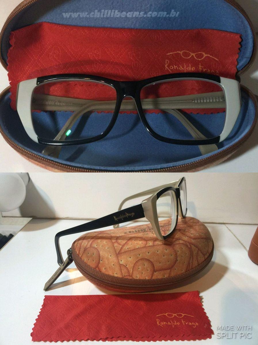 a646c161a óculos de grau chilli beans, coleção ronaldo fraga - óculos ronaldo fraga  para chilli beans