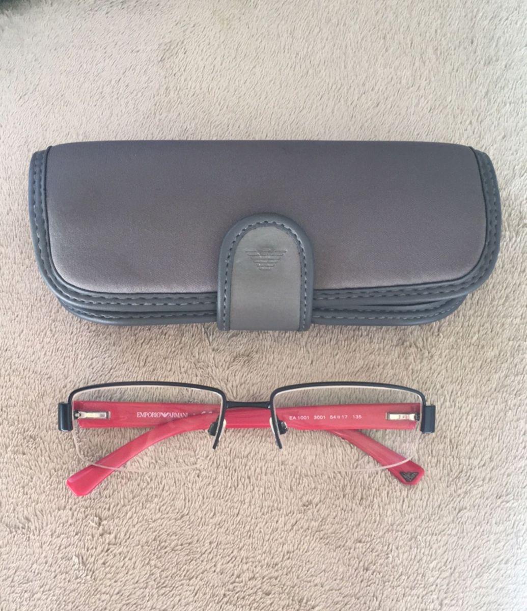 Óculos de Grau Empório Armani   Óculos Masculino Emporio Armani ... 397ffa1f65