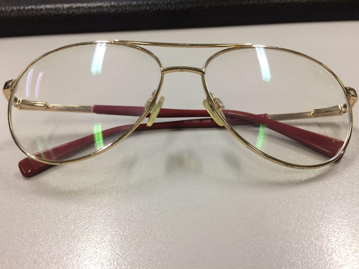 Óculos de Grau Estilo Aviador   Óculos Feminino Atitude Usado 22711084    enjoei 100405a959