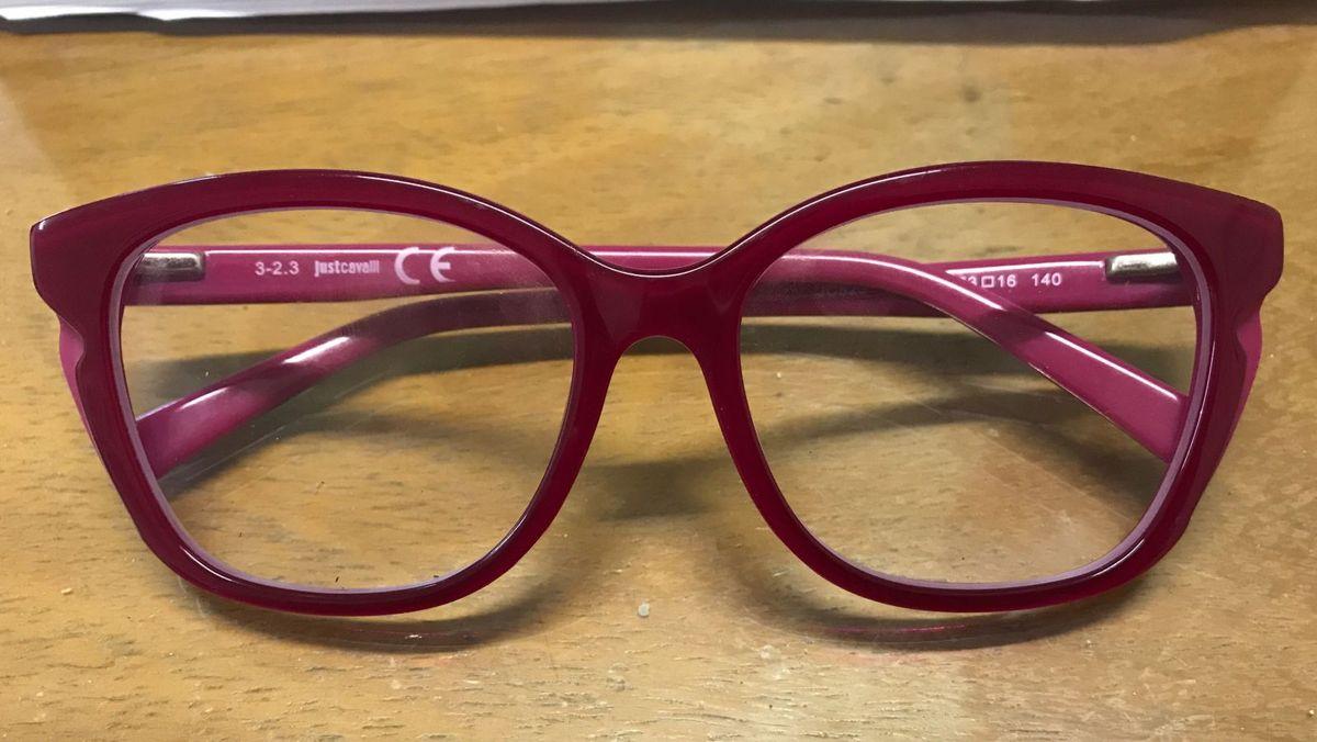 Óculos de Grau Just Cavalli Rosa   Óculos Feminino Just Cavalli ... d7aba0e782