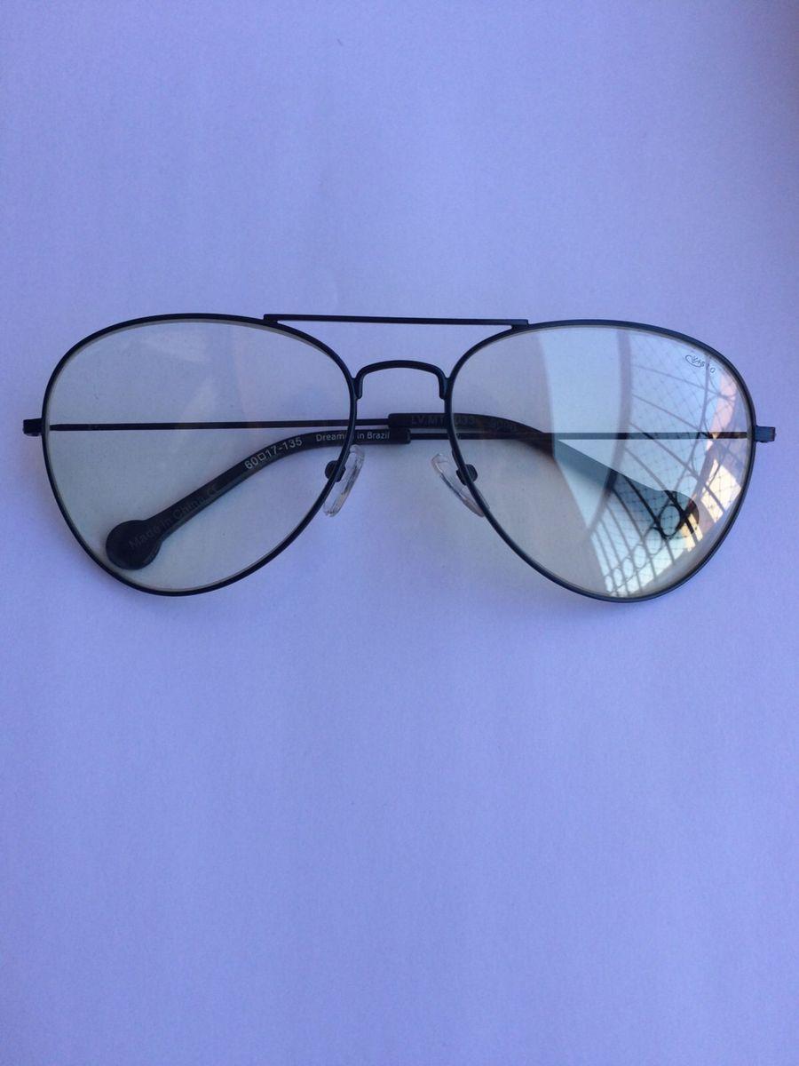 beee931fb Óculos de Grau Modelo Aviador | Óculos Feminino Chilli Beans Nunca ...