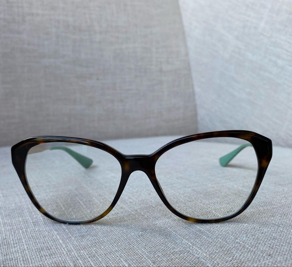 Oculos de Grau Prada Gatinho   Óculos Feminino Prada Usado 10   enjoei