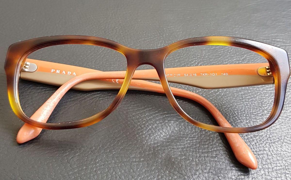 Óculos de Grau Prada   Óculos Feminino Prada Usado 10   enjoei