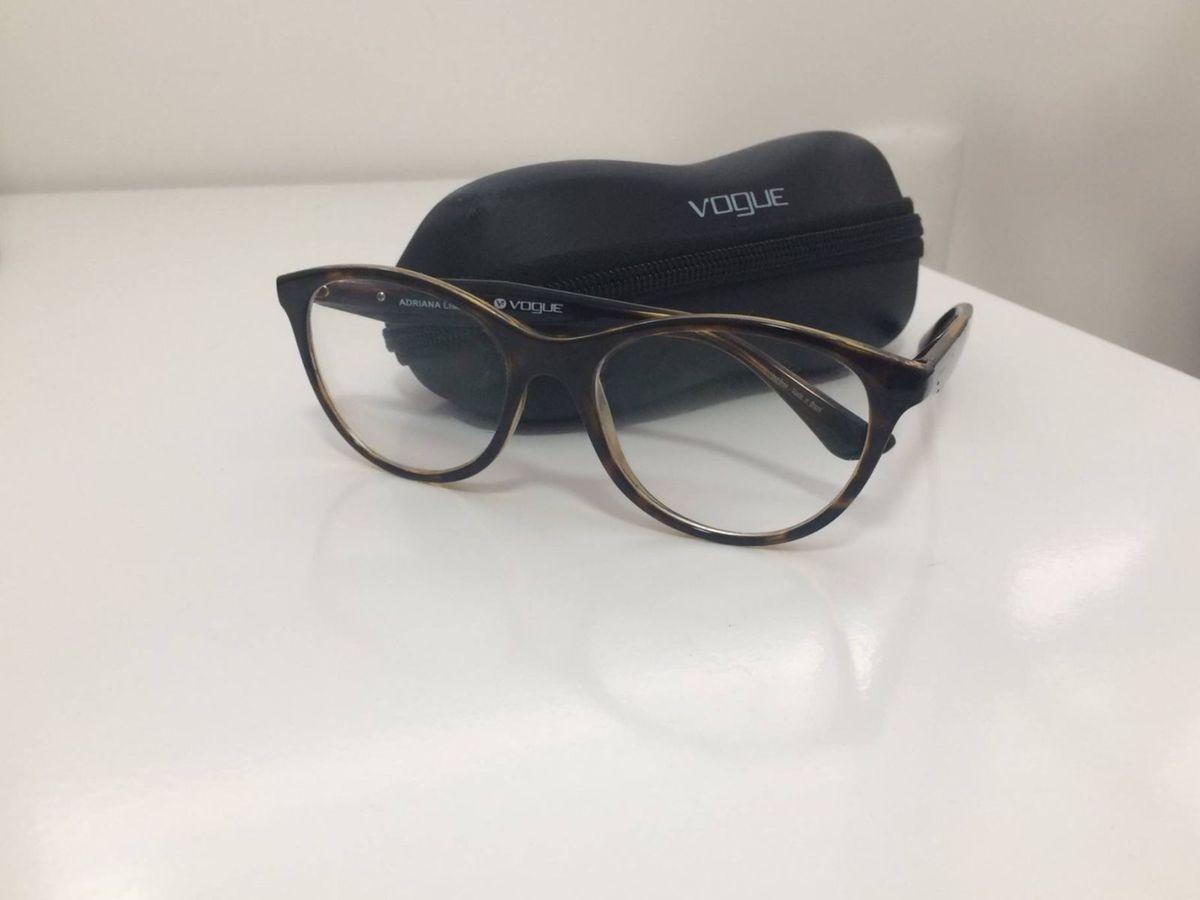 43822b0248e7f Óculos de Grau Vogue - Modelo Adriana Lima 2988 L   Óculos Feminino Vogue  Usado 19936130   enjoei