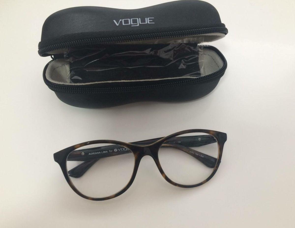 2d8995845a25d Óculos de Grau Vogue - Modelo Adriana Lima 2988 L   Óculos Feminino ...