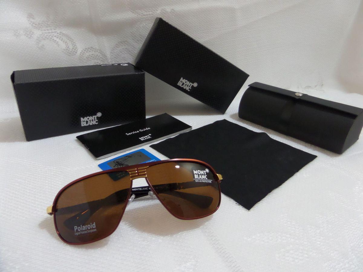 Óculos de Luxo Montblanc Estilo Aviador Preto vermelho - Original e  Importado   Óculos Masculino Montblanc Nunca Usado 13470194   enjoei 94b0acf316