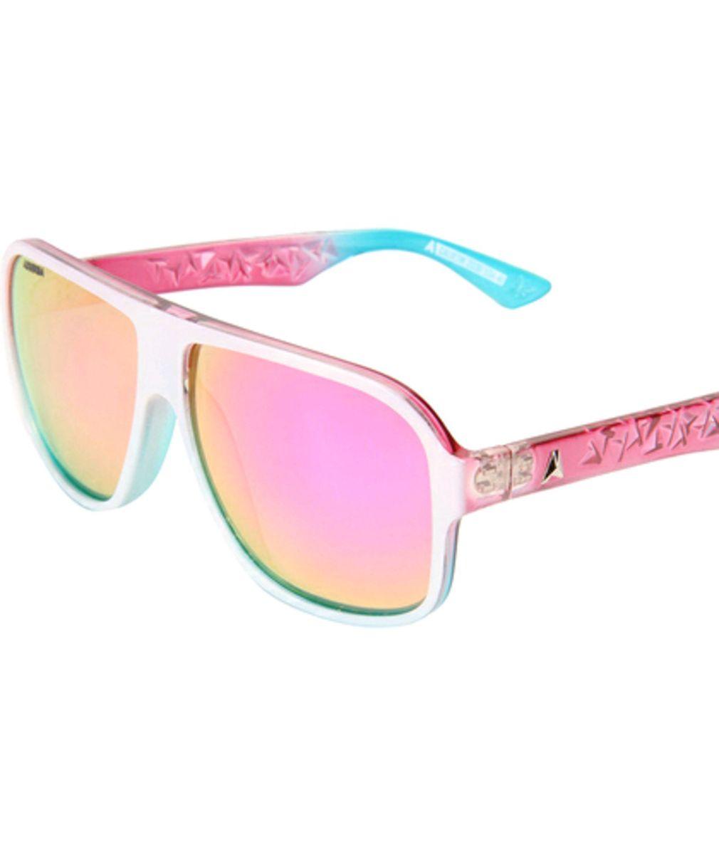 e9ab9b923 Óculos de Sol Absurda Espelhado Rosa   Óculos Feminino Absurda Nunca ...