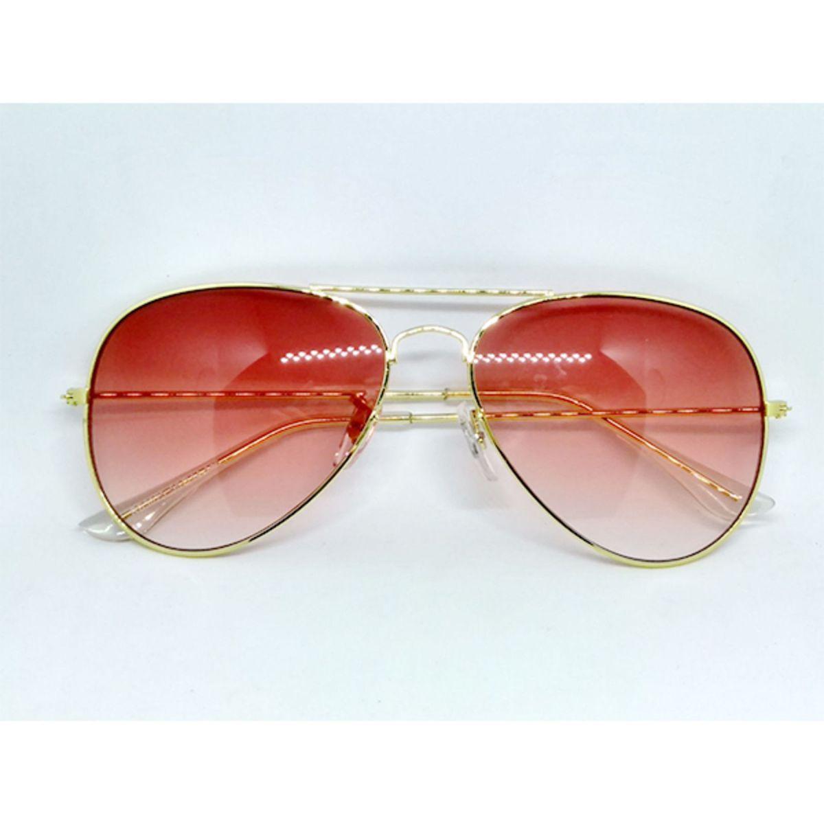 e9af41fed Óculos de Sol Aviador com Lente Degrade Rosa e Transparente | Óculos  Feminino Lecoleto Nunca Usado 29044708 | enjoei