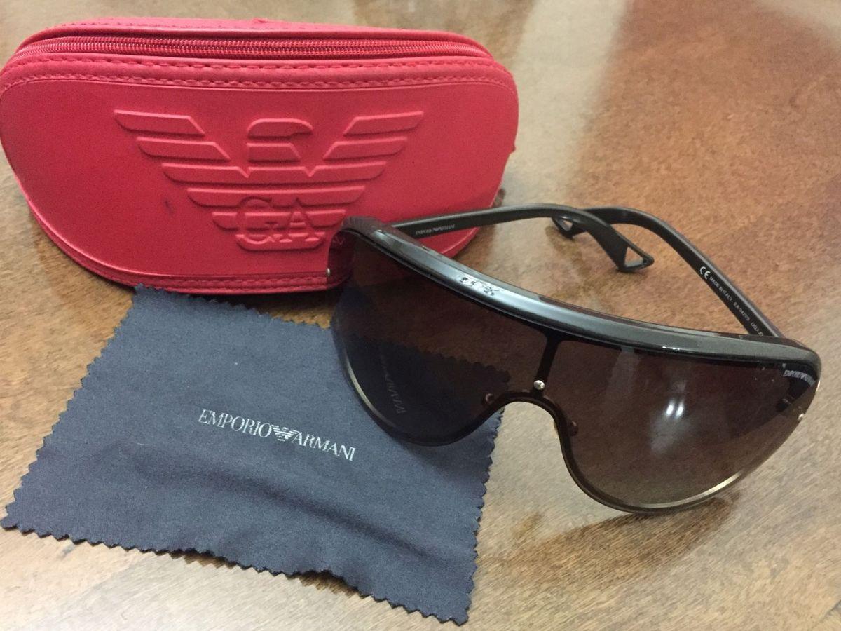 Óculos de Sol Aviador Empório Armani   Óculos Masculino Emporio ... b62743b87f