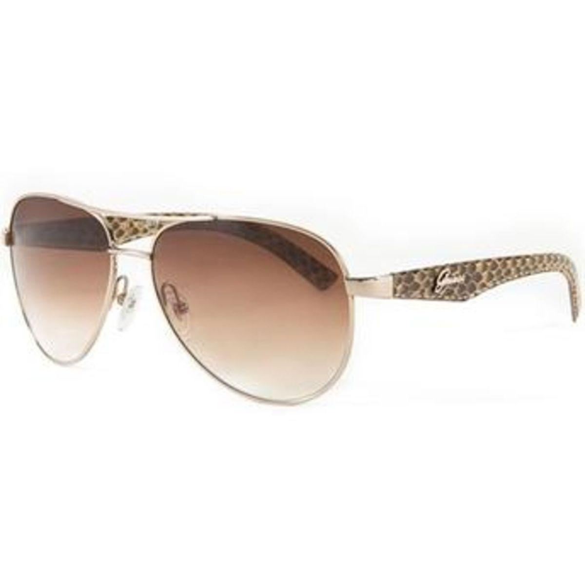 89d0d34842ed6 Óculos de Sol Aviador Guess