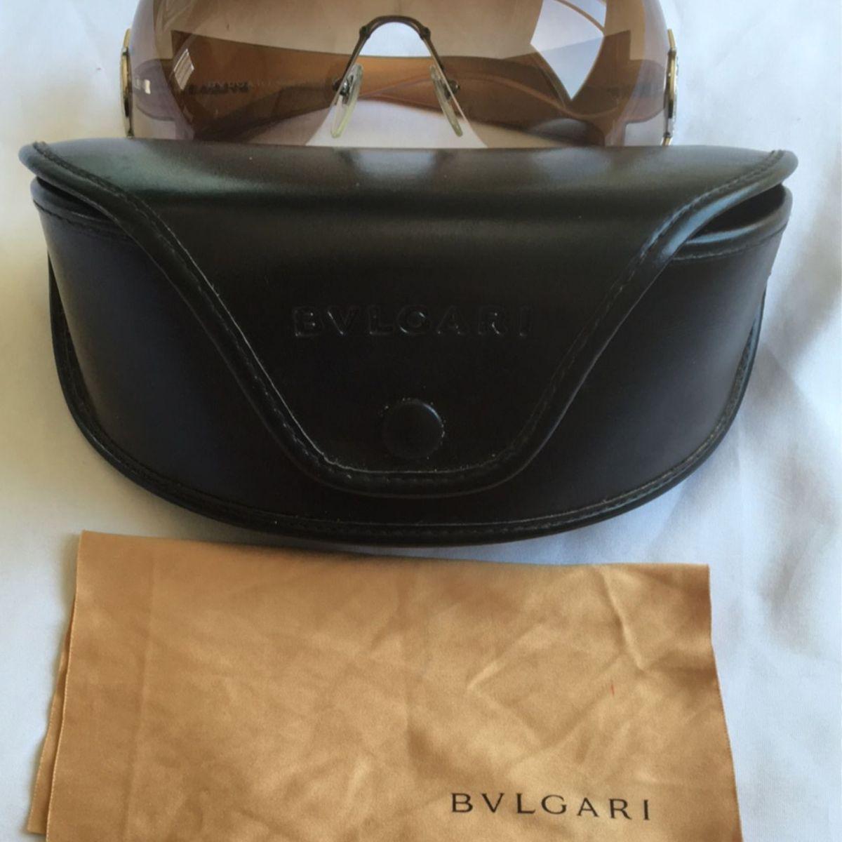 b5e47f781ddd6 Óculos de Sol Bvlgari Original